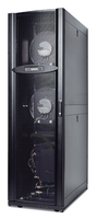 APC InRow RP Chilled Water 460-480V 60Hz Freestanding Black rack