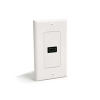 StarTech.com HDMIPLATE White outlet box