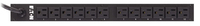 Eaton ePBZ86 12AC outlet(s) 1U Black power distribution unit (PDU)