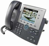 Cisco Unified IP Phone 7945G w/ 1 CCME User License Caller ID Grey