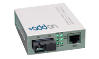 Add-On Computer Peripherals (ACP) 100BTX-100BXU 100Mbit/s 1310nm Grey network media converter