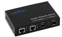 Add-On Computer Peripherals (ACP) AO-GES-22-S Black network switch