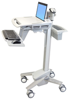 Ergotron StyleView EMR Laptop Cart Ordinateur portable Multimedia cart Blanc