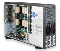 Supermicro SuperServer 8047R-7RFT+ Intel C602 LGA 2011 (Socket R) 4U Black
