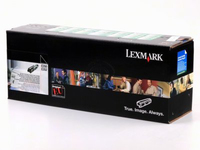 Lexmark 24B5806 10000pages Yellow laser toner & cartridge