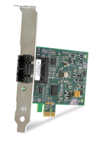 Allied Telesis 100FX Desktop PCI-e Fiber Network Adapter Card w/PCI Express, Federal & Government 100Mbit/s networking card