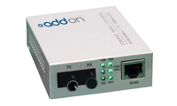 Add-On Computer Peripherals (ACP) 100Base-TX(RJ45) to 100Base-XD(ST), SMF 100Mbit/s 1550nm Single-mode Silver network media conv