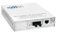 Add-On Computer Peripherals (ACP) 1000Base-TX(RJ45) to 1000Base-LX(ST), 1310nm 1000Mbit/s 1310nm Single-mode Silver network medi