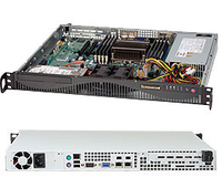 Supermicro SuperChassis 512F-441B Rack 440W Black computer case