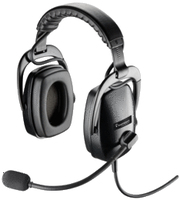 Plantronics SHR 2301-02 Binaural Head-band Black headset