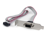 StarTech.com IDC/DB-9 IDC DB-9 Grey cable interface/gender adapter