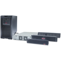 APC Smart-UPS 5000VA RM w/Transformer 5000VA Black uninterruptible power supply (UPS)