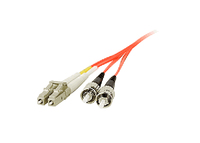Siig 2.0m Patch Cable LC/ST 2m LC ST Orange fiber optic cable
