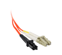 Siig 3.0m Patch Cable LC/MTRJ 3m LC MT-RJ Orange fiber optic cable