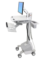 Ergotron StyleView Flat panel Multimedia cart Aluminium,Grey,White