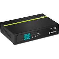 Trendnet TPE-TG44G Power over Ethernet (PoE) Black network switch