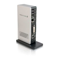 C2G TruLink USB Universal Docking Station USB 2.0 Grey