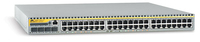 Allied Telesis 10/100TX x 48 ports managed FE L3 Switch w/ 4x SFP expansion bays Managed L3 Silver