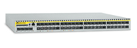 Allied Telesis 48 x FE SFP ports Layer 3 Switch w/ 4x Gigabit uplink ports Managed L3 Silver