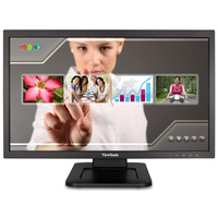 "Viewsonic TD2220 21.5"" 1920 x 1080pixels Tabletop Black touch screen monitor"