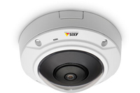 Axis M3007-PV IP security camera indoor Dome White 2592 x 1944pixels