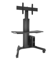 Chief LPAUB Flat panel Multimedia cart Black multimedia cart/stand