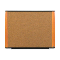 3M C3624LC Corkwood Brown,Cherry,Graphite bulletin board