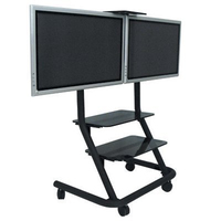 Chief PPD2000 Flat panel Multimedia cart Black multimedia cart/stand