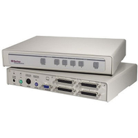 Raritan CS4 1U Grey KVM switch