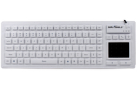 Seal Shield SEAL TOUCH GLOW2 USB QWERTY English White keyboard