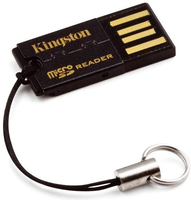 Kingston Technology FCR-MRG2 USB 2.0 Noir lecteur de carte mémoire