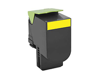 Lexmark 80C0X40 Cartridge 4000pages Yellow laser toner & cartridge