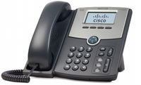 Cisco SPA502G Wired handset 1lines LCD Black IP phone