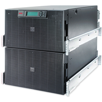APC Smart-UPS On-Line Double-conversion (Online) 15000VA 8AC outlet(s) Rackmount/Tower Black uninterruptible power supply (UPS)
