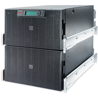APC Smart-UPS On-Line Double-conversion (Online) 20000VA 8AC outlet(s) Rackmount/Tower Black uninterruptible power supply (UPS)