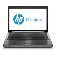 "HP EliteBook 8770w 2.8GHz i7-3840QM 17.3"" 1920 x 1080pixels Charcoal Mobile workstation"