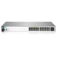 Hewlett Packard Enterprise BladeSystem 2530-24G-PoE+ Power over Ethernet (PoE) 19U Black