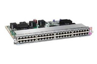 Cisco Catalyst WS-X4748-RJ45-E Managed Gigabit Ethernet (10/100/1000) Silver network switch