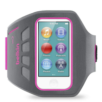 Belkin Ease-Fit Plus Armband case Grey,Pink