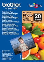 Brother BP71GP20 Premium Glossy Photo Paper White photo paper