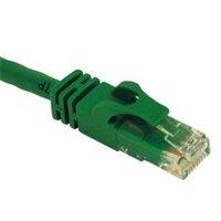 C2G 3ft Cat6 550MHz Snagless Patch Cable Green 0.9m Green networking cable