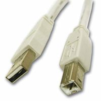 C2G USB 2.0 A/B Cable 2m 2m USB A USB B White USB cable