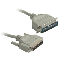 C2G DB25M to C36M Parallel Printer Cable 15ft 4.57m Beige printer cable