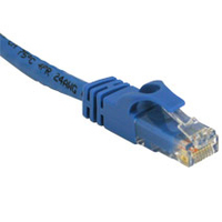 C2G 14ft Cat6 550MHz Snagless Patch Cable Blue 4.2m Blue networking cable