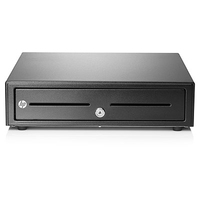 HP Standard Duty Cash Drawer Noir caisse enregistreuse