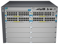 Hewlett Packard Enterprise ProCurve 5412-92G-PoE+-2XG v2 zl Managed L3 Gigabit Ethernet (10/100/1000) Power over Ethernet (PoE)