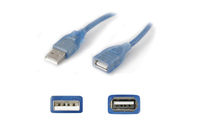 Add-On Computer Peripherals (ACP) 4.6m M/F USB 2.0 4.6m USB A USB A Male Female Blue USB cable