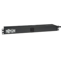 Tripp Lite PDU1220T 13AC outlet(s) 1U Black power distribution unit (PDU)