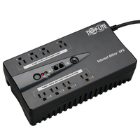 Tripp Lite INTERNET600U Standby (Offline) 600VA 8AC outlet(s) Tower Black uninterruptible power supply (UPS)