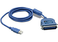 Trendnet TU-P1284 2m Blue printer cable